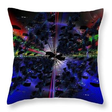 Artifacts Throw Pillow by Tim Allen