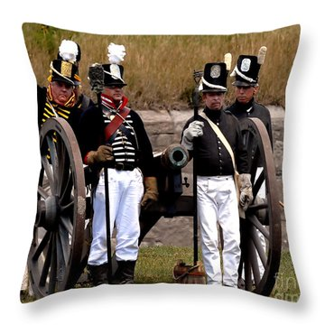 Artillery Throw Pillow