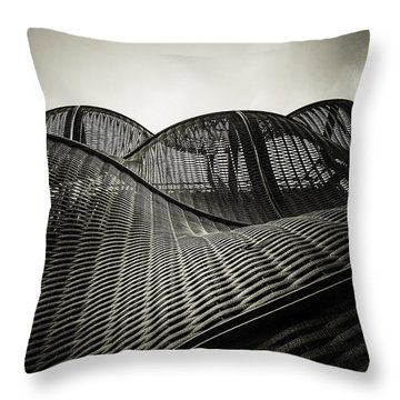 Artistic Curves Throw Pillow