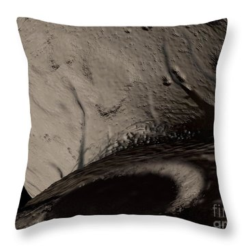 Artists Concept Of The Trojan Asteroid Throw Pillow