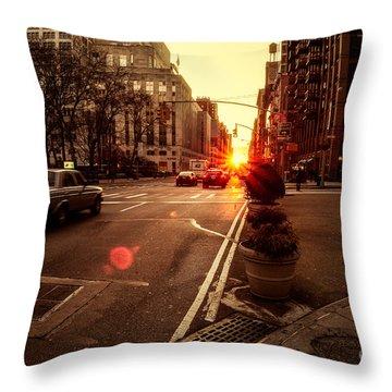As It Does.. Throw Pillow by John Farnan