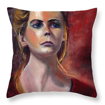 As You Learn Throw Pillow