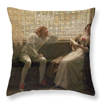 'as You Like It' Throw Pillow by Charles C Seton