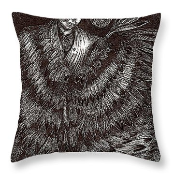 Asema Transforms Throw Pillow