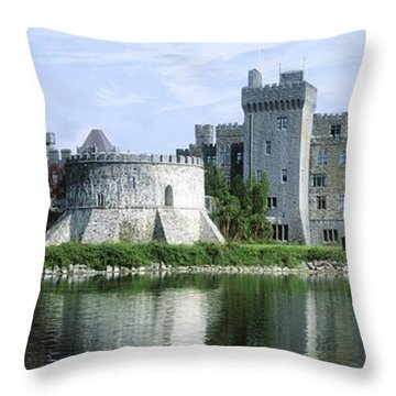 Ashford Castle, Lough Corrib, Co Mayo Throw Pillow by The Irish Image Collection