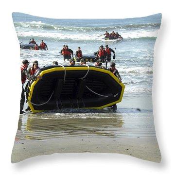 Asic Underwater Demolitionseal Students Throw Pillow by Stocktrek Images