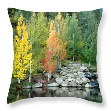 Aspen At Montreux Throw Pillow