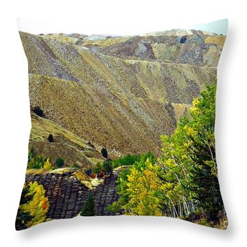 Aspens Hill Throw Pillow
