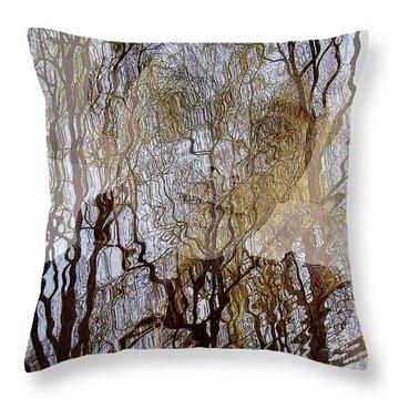 Asphalt - Portrait Of A Boy Throw Pillow