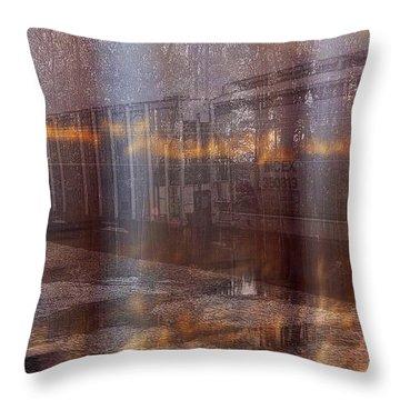 Asphalt Series - 1 Throw Pillow