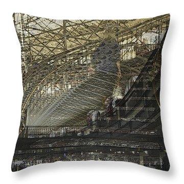 Asphalt Series - 4 Throw Pillow