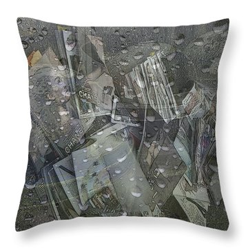 Asphalt Series - 5 Throw Pillow