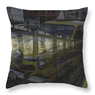 Asphalt Series - 8 Throw Pillow