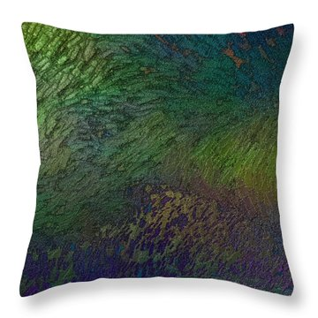Throw Pillow featuring the digital art Assiduato by Jeff Iverson