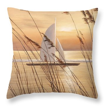 At Last Throw Pillow