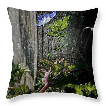 At The Corner Throw Pillow