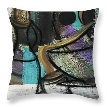 At Your Service Throw Pillow by Kelly Turner