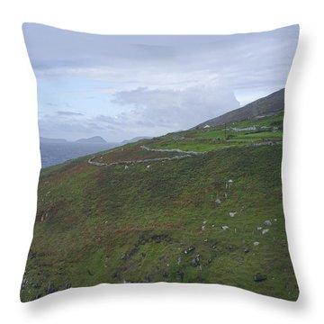 Throw Pillow featuring the photograph Atlantic Coast Ireland by Hugh Smith