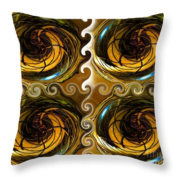 Atlantis The Lost Works Number One Throw Pillow by David Lee Thompson
