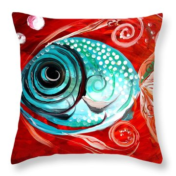 Attract Throw Pillow