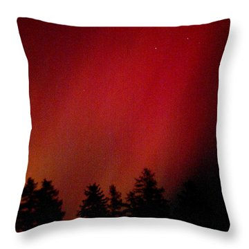 Aurora 01 Throw Pillow