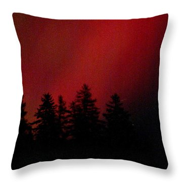Aurora 02 Throw Pillow