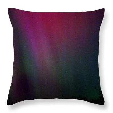 Aurora 03 Throw Pillow