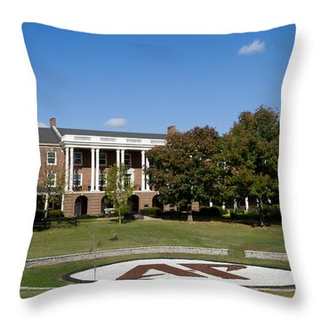Austin Peay State University Throw Pillow