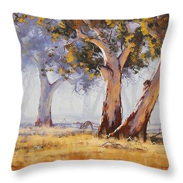 Kangaroo Throw Pillows