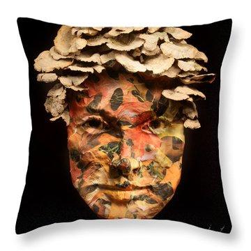 Autumn Throw Pillow by Adam Long