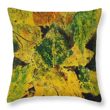 Autumn Boquet Throw Pillow