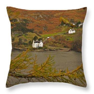 Autumn Colour Throw Pillow