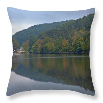 Autumn Is Approaching Throw Pillow by Karol Livote