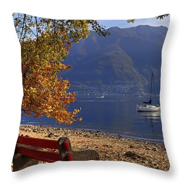 Autumn Throw Pillow by Joana Kruse