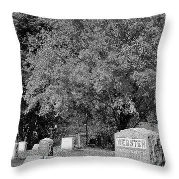 Autumn Memories Bw Throw Pillow