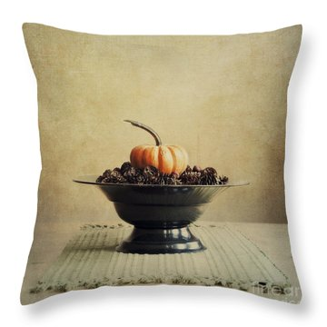 Autumn Throw Pillow by Priska Wettstein