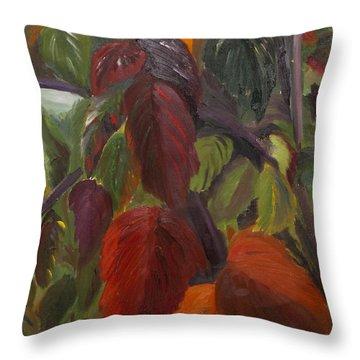 Autumn Splendor Throw Pillow by Art Hill Studios