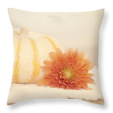 Autumn Splendor Throw Pillow by Kim Hojnacki