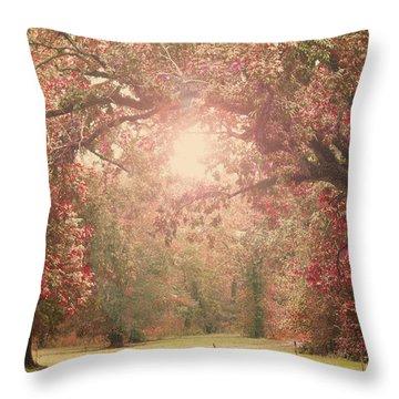 Autumn Splendor Throw Pillow by Susan Bordelon