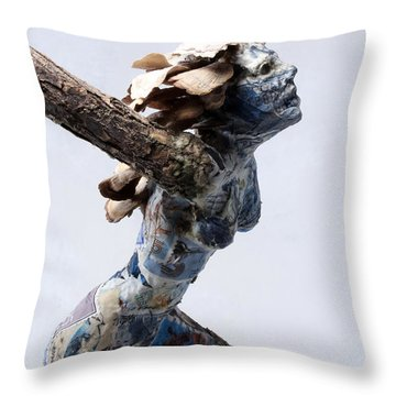 Avian Dreams Throw Pillow by Adam Long