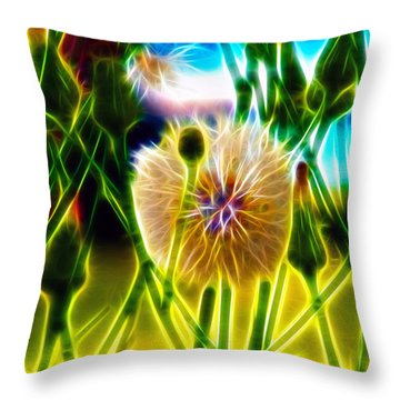 Awaiting Wishes 2 Throw Pillow