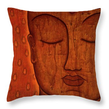 Awakened Mind Throw Pillow