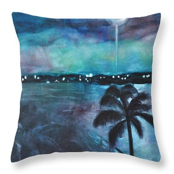 Awakening Throw Pillow by Mickey Krause