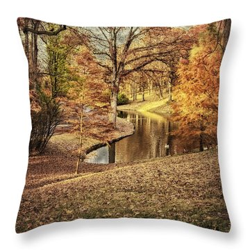 Throw Pillow featuring the photograph Awesome Autumn by Mary Timman