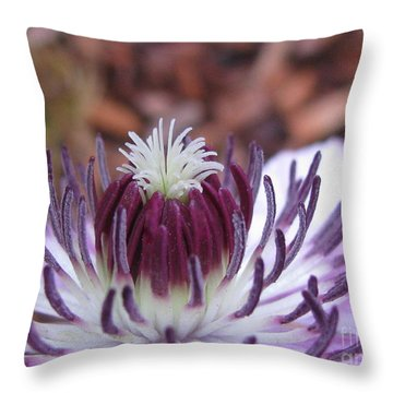 Throw Pillow featuring the photograph Awesome by Tina Marie