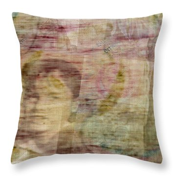 Azil Throw Pillow by Marie Jamieson