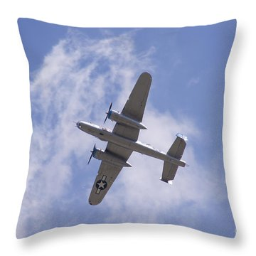 B25 Throw Pillow by Robert E Alter Reflections of Infinity