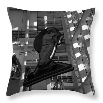 Babes Big Hit Throw Pillow by David Lee Thompson