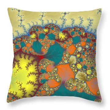 Baby Elephant Throw Pillow by Mark Greenberg