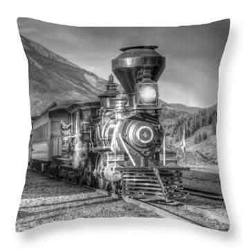 Back In Time Throw Pillow by Ken Smith